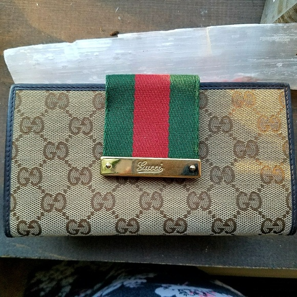 1ee8aa412c6f Gucci Bags | Authentic Gg Supreme Continental Wallet | Poshmark
